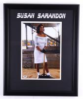 "Susan Sarandon Signed ""Bull Durham"" 18.5x22.5 Custom Framed Photo Display (JSA COA) (See Description) at PristineAuction.com"