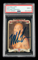 Mike Tyson Signed 2012 Upper Deck Goodwin Champions #102 (PSA Encapsulated) at PristineAuction.com