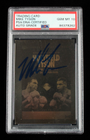 Mike Tyson Signed 1992 Kayo Holograms Holyfield / Tyson #10 (PSA Encapsulated) at PristineAuction.com