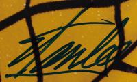 """Stan Lee Signed """"Spiderman"""" 22.5x26.5 Framed Photo (JSA COA & Lee Hologram) at PristineAuction.com"""