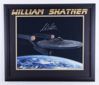 "William Shatner Signed ""Star Trek"" 22.5x26.5 Framed Photo (JSA COA) at PristineAuction.com"