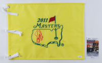 """Fuzzy Zoeller Signed 2009 Masters Tournament Pin Flag Inscribed """"1979"""" (JSA COA) at PristineAuction.com"""