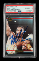 Mike Tyson Signed 1991 Ringlords Promo #NNO (PSA Encapsulated) at PristineAuction.com