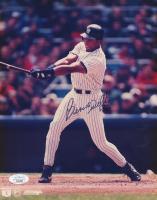"Bernie Williams Signed Yankees 8x10 Photo Inscribed ""SDG"" (JSA COA) at PristineAuction.com"