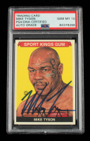 Mike Tyson Signed 2009 Sportkings #147 (PSA Encapsulated) at PristineAuction.com