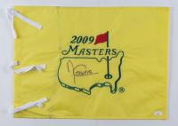 Angel Cabrera Signed 2009 Masters Tournament Pin Flag (JSA COA) (See Description) at PristineAuction.com