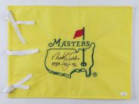 "Nick Faldo Signed Masters Tournament Pin Flag Inscribed ""1989-90-96"" (JSA COA) at PristineAuction.com"