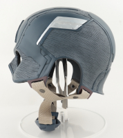 "Chris Evans Signed ""Captain America"" Full-Size Movie Prop Replica Helmet (Beckett Hologram) (See Description) at PristineAuction.com"