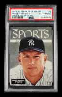 Mickey Mantle 1999 Sports Illustrated Greats of the Game Cover Collection #2 (PSA Authentic) at PristineAuction.com