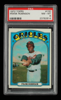 Frank Robinson 1972 Topps #100 (PSA 8) at PristineAuction.com