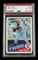 Kirby Puckett 1985 Topps #536 RC (PSA 8) at PristineAuction.com