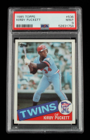 Kirby Puckett 1985 Topps #536 RC (PSA 9) at PristineAuction.com