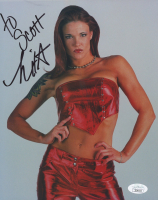 Lita Signed WWE 8x10 Photo (JSA COA) at PristineAuction.com