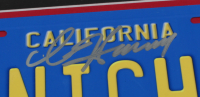 "David Hasselhoff Signed ""Knight Rider"" 20.5x24.5 Custom Framed License Plate Display (JSA Hologram) (See Description) at PristineAuction.com"