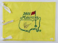 Charl Schwartzel Signed 2011 Masters Tournament Pin Flag (JSA COA) (See Description) at PristineAuction.com