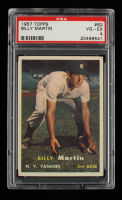 Billy Martin 1957 Topps #62 (PSA 4) at PristineAuction.com