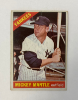 Mickey Mantle 1966 Topps #50 at PristineAuction.com