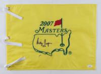 "Billy Casper Signed 2007 Masters Tournament Pin Flag Inscribed ""1970"" (JSA COA) (See Description) at PristineAuction.com"