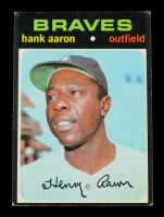 Hank Aaron 1971 Topps #400 at PristineAuction.com