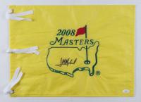 Jose Maria Olazabal Signed 2008 Masters Tournament Pin Flag (JSA COA) (See Description) at PristineAuction.com