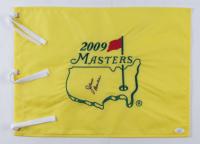Jack Burke Jr. Signed 2009 Masters Tournament Pin Flag (JSA COA) at PristineAuction.com
