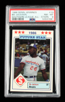 Bo Jackson 1986 Southern League All-Stars Jennings #13 (PSA 8) at PristineAuction.com