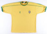 Ronaldinho Signed Brazil Jersey (PSA COA) at PristineAuction.com