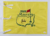 Trevor Immelman Signed 2008 Masters Tournament Pin Flag (JSA COA) at PristineAuction.com
