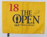 Henrik Stenson Signed The US Open Tournament Pin Flag (JSA COA) at PristineAuction.com