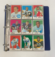 1969 Topps Football Complete Set of (263) Cards with Original Binder at PristineAuction.com
