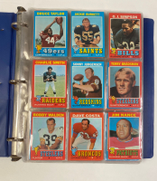 1971 Topps Football Complete Set of (263) Cards with Terry Bradshaw RC at PristineAuction.com