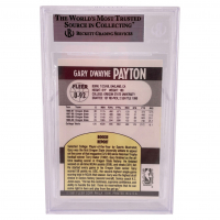 Gary Payton Signed 1990-91 Fleer Update #U92 RC (BGS Encapsulated) at PristineAuction.com