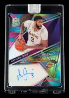 Anthony Davis 2019-20 Panini Spectra In The Zone Autographs Nebula #10 #1/1 at PristineAuction.com