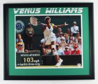 Venus Williams Signed 22.5x26.5 Framed Photo (PSA Hologram & Online Authentics COA) (See Description) at PristineAuction.com