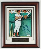 "Brooks Robinson Signed 13.5x16.5 Custom Framed Photo Display Inscribed ""HOF 83"" (JSA COA) at PristineAuction.com"
