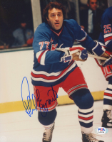 Phil Esposito Signed Rangers 8x10 Photo (PSA COA) at PristineAuction.com