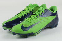 Pair of (2) Russell Wilson Signed Nike Football Cleats (Wilson Hologram) at PristineAuction.com