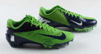 Russell Wilson Signed Pair of Nike Football Cleats (Wilson Hologram) at PristineAuction.com