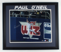 Paul O'Neill Signed Yankees 22.5x26.5 Framed Photo (Steiner Hologram) at PristineAuction.com