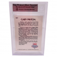 Gary Payton Signed 1990-91 Hoops #391 LS RC (BGS Encapsulated) at PristineAuction.com