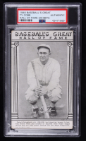 Ty Cobb 1948 Baseball's Great Hall of Fame Exhibits Trading Card (PSA Authentic) at PristineAuction.com