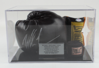 Mike Tyson Signed Everlast Boxing Glove with Display Case (PSA COA) (See Description) at PristineAuction.com
