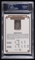 Wade Boggs Signed 1984 Donruss Champions #16 (PSA Encapsulated) at PristineAuction.com