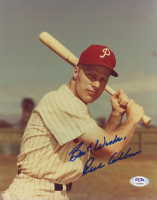 """Richie Ashburn Signed Phillies 8x10 Photo Inscribed """"Best Wishes"""" (PSA COA) at PristineAuction.com"""