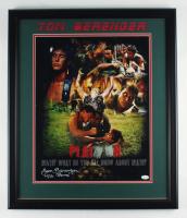 """Tom Berenger Signed """"Platoon"""" 22.5x26.5 Framed Photo Inscribed """"SSG Barnes"""" (JSA COA) at PristineAuction.com"""
