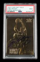 Kobe Bryant 1996 Fleer Purple Signature 23KT Gold Card RC (PSA 9) at PristineAuction.com