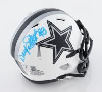 "Daryl ""Moose"" Johnston Signed Cowboys Lunar Eclipse Alternate Speed Mini Helmet (Beckett Hologram) (See Description) at PristineAuction.com"