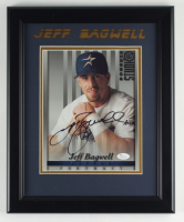 Jeff Bagwell Signed Astros 13.5x16.5 Custom Framed Photo Display (JSA COA) (See Description) at PristineAuction.com