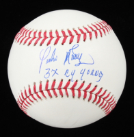 """Pedro Martinez Signed OML Baseball Inscribed """"3x Cy Young"""" (PSA COA) at PristineAuction.com"""