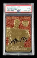 Aaron Rodgers 2006 Merrick Mint Feel The Game Gold Card (PSA 9) at PristineAuction.com